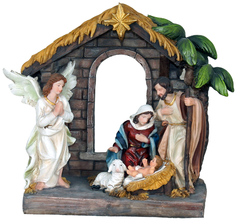 Nativity set - SYLC090A1-8 - 20cm-8""