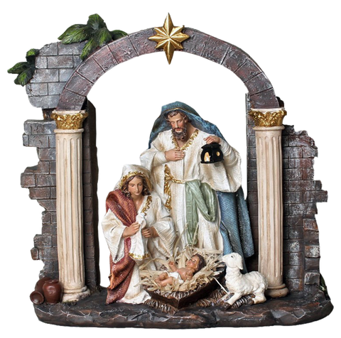 Nativity set - SYLC105A-12 - 30cm-12""