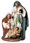 Nativity set -SYLG1033A-6 - 15cm-6""