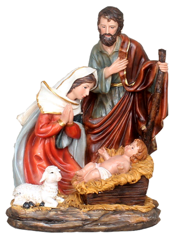 Nativity set - SYLI008B3-25 - 20cm-8""
