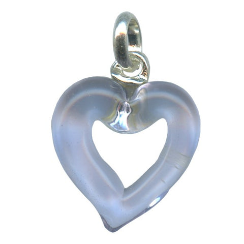 Genuine Venetian Murano glass pendent Heart - XMUH-16