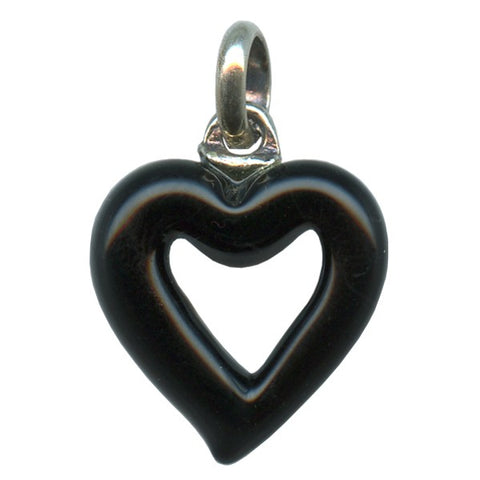 Genuine Venetian Murano glass pendent Heart - XMUH-3