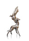giraffe mother and baby bronze sculpture gift keith sherwin limited edition