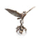 Barn Owl Flying Bronze Sculpture Michael Simpson
