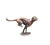 cheetah miniature bronze gift butler and peach