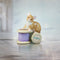 hand painted bone china mouse sitting on cotton reels gift figurine