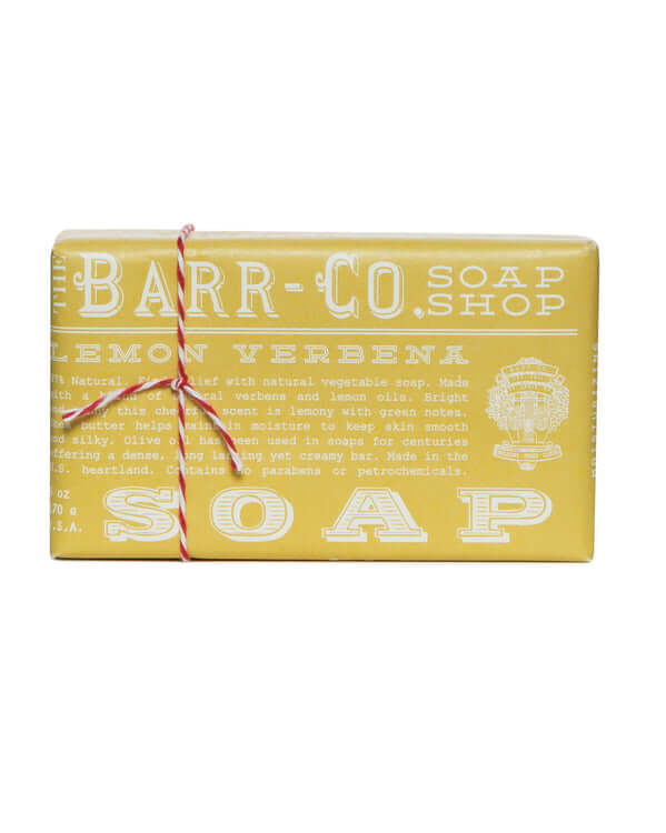Lemon Verbena Triple Milled Bar Soap