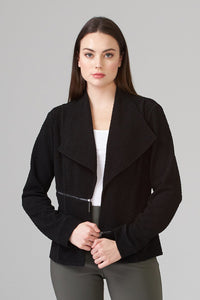 Side Zip Blazer
