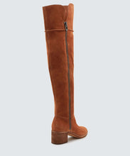 Load image into Gallery viewer, Dorien Tall Suede Boots
