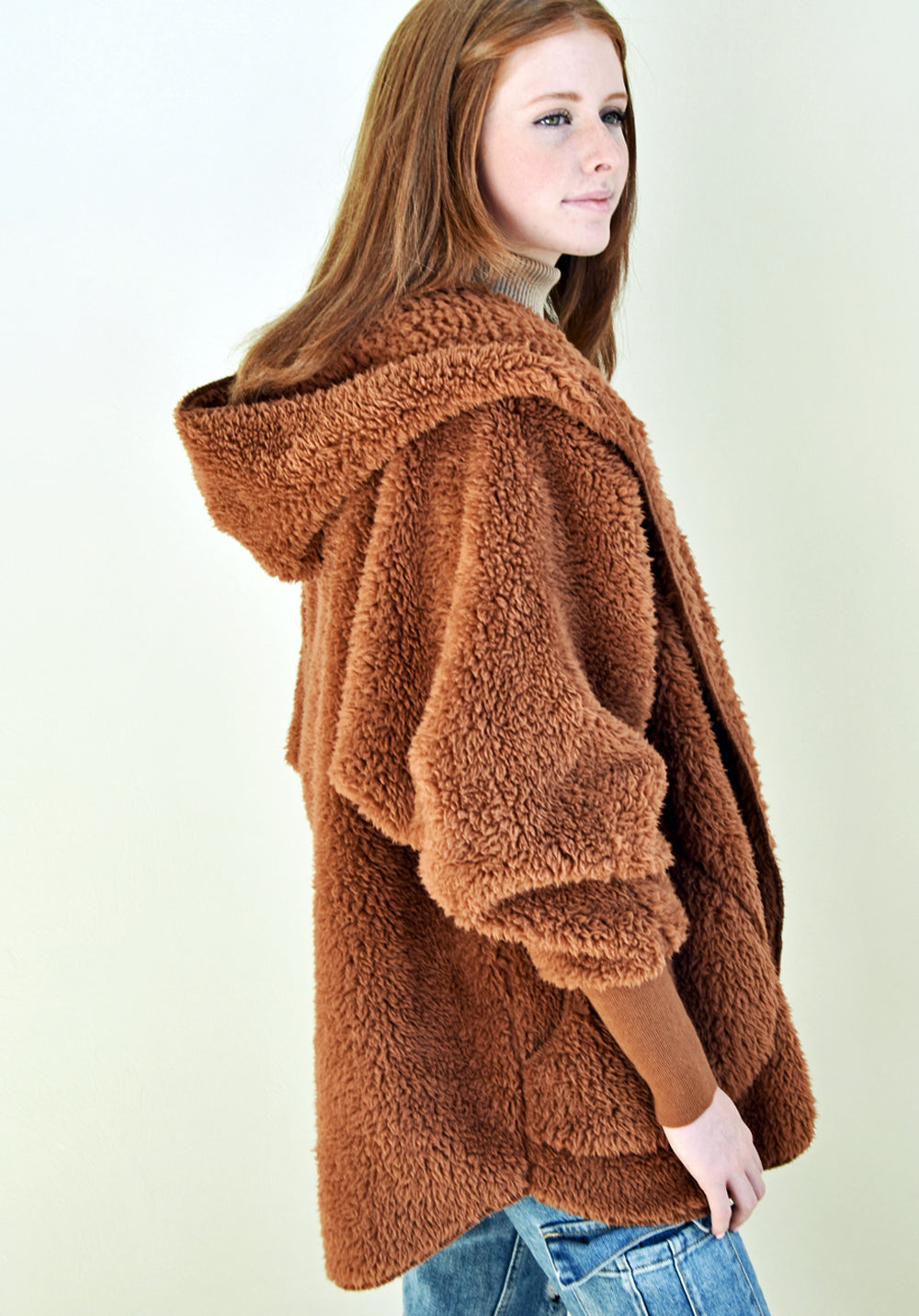 Fluffy Sweater Body Wrap - Fall Harvest