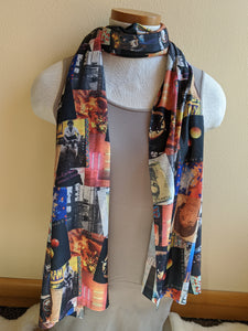 Paul McCartney Wings Scarf