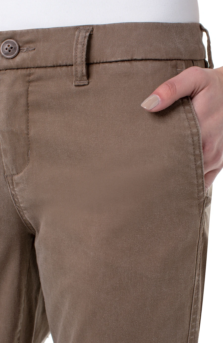 Bobbie Trouser Slash Pockets