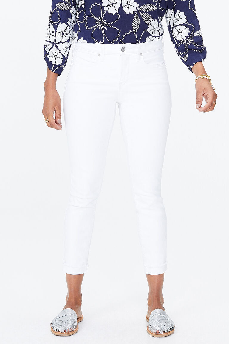 Ami Skinny Ankle Jeans With Cuff