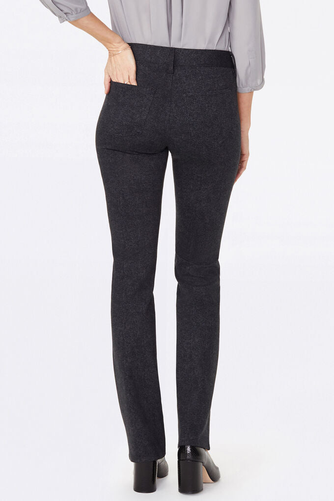 Marilyn Straight Pants In Ponte Knit