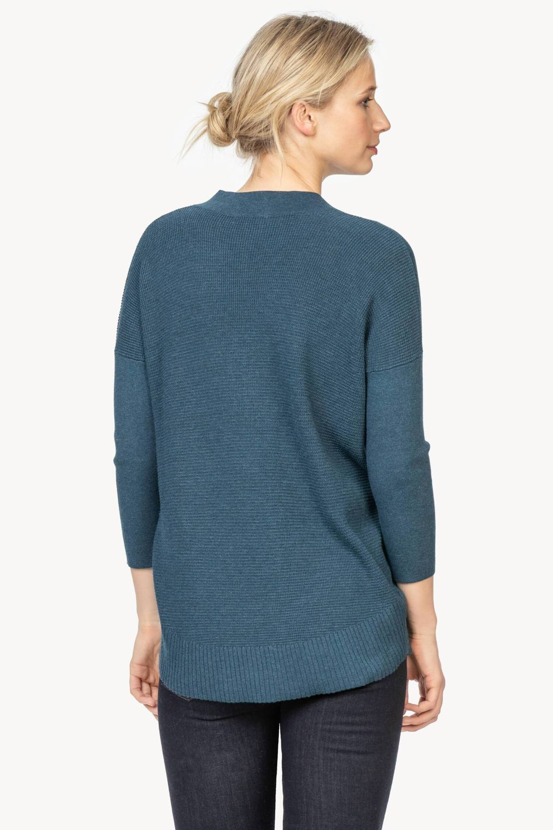 3/4 Sleeve Tunic Sweater