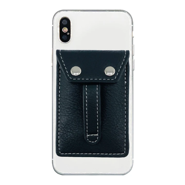 Wallet Phone Grip Black