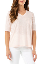 Load image into Gallery viewer, 1/2 Sleeve V-Neck Tee