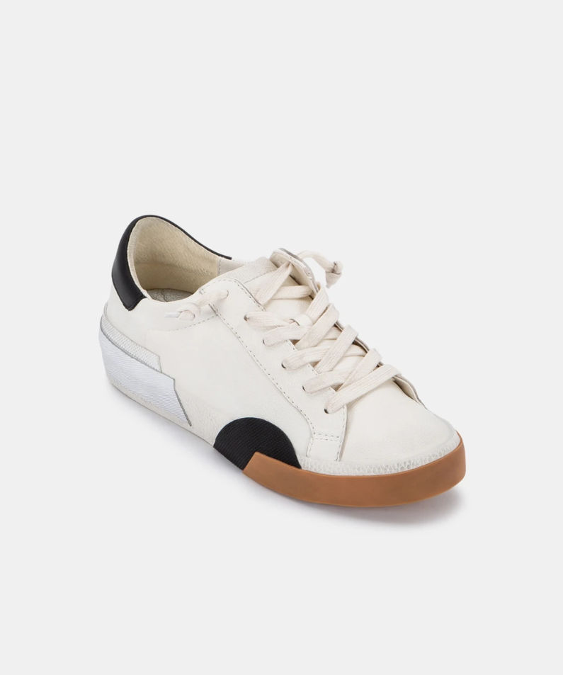 Zina Sneakers in White Leather