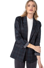 Load image into Gallery viewer, Boyfriend Blazer with Princess Dart Pattern Knit