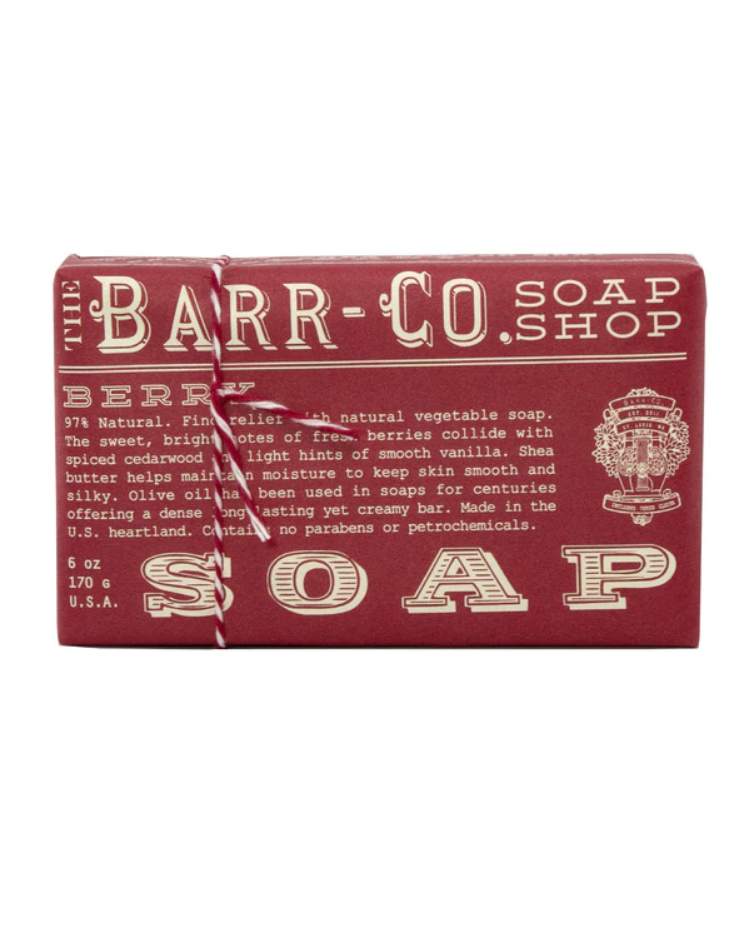 Berry Triple Milled Bar Soap