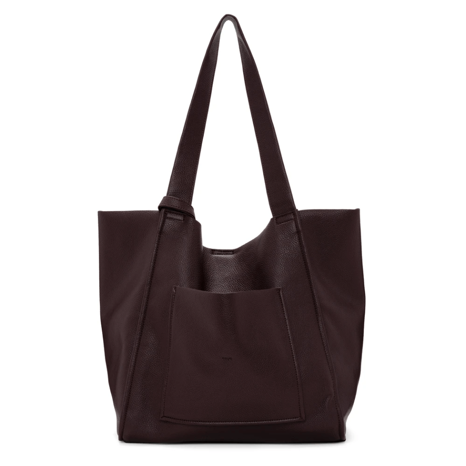 Unlined Pebble Large Tote