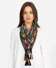 Load image into Gallery viewer, Daisy Silk Scarf