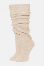 Load image into Gallery viewer, Bess Slouchy Wool Knee Sock