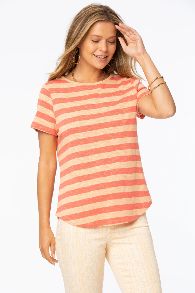 Rugby Striped Tee