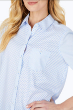 Load image into Gallery viewer, Mini Dot Stripe Non-Iron Shirt