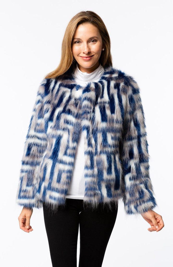 Kiki Faux Fur Jacket