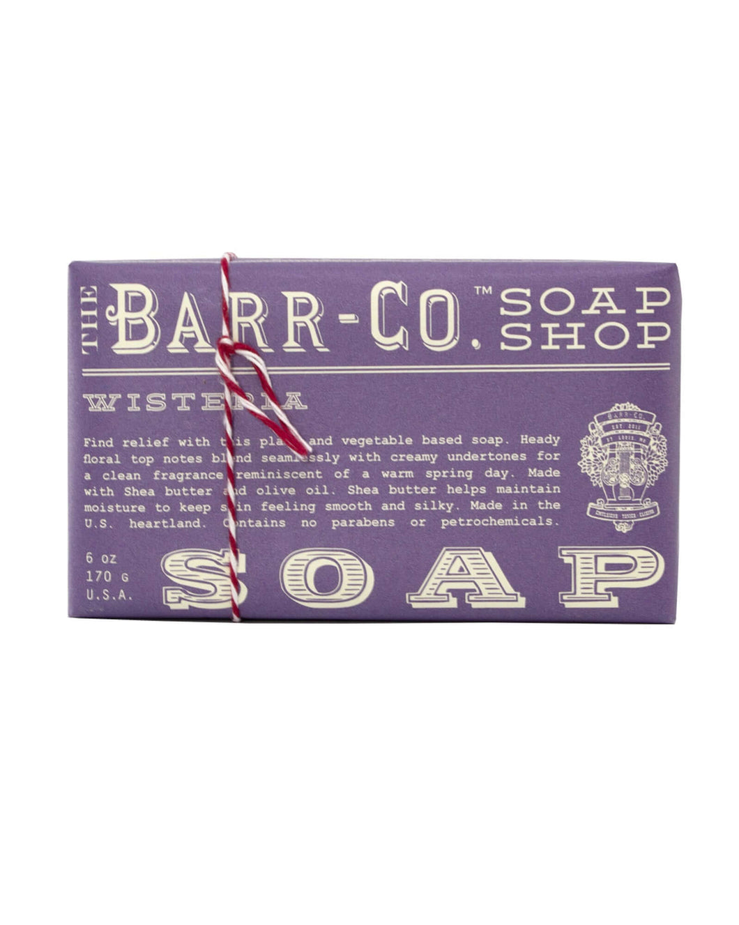Wisteria Triple Milled Bar Soap