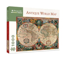 Load image into Gallery viewer, Antique World Map 1000-piece Jigsaw Puzzle