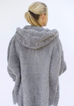 Load image into Gallery viewer, Fluffy Sweater Body Wrap - Grey Kitten