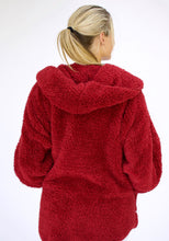 Load image into Gallery viewer, Fluffy Sweater Body Wrap - Red Velvet