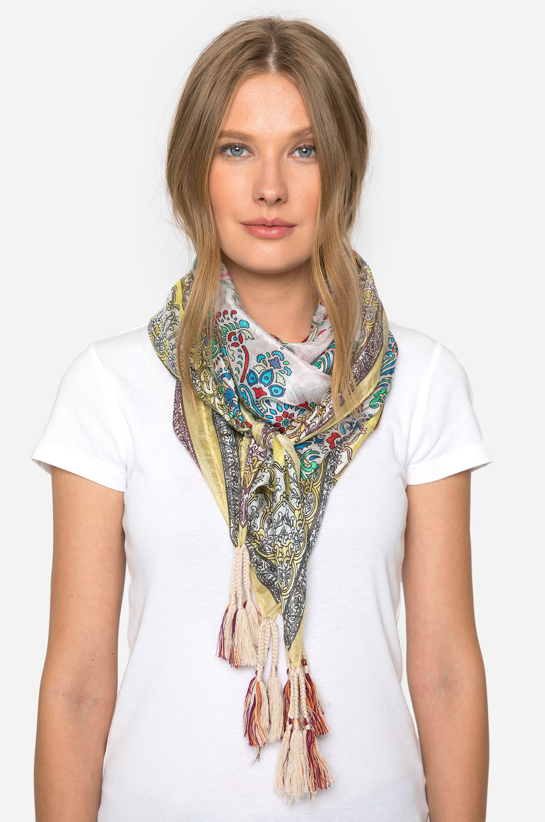 Rev Silk Scarf