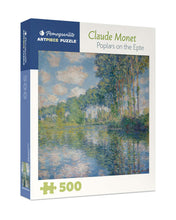 Load image into Gallery viewer, Claude Monet: Poplars on the Epte 500-piece Jigsaw Puzzle