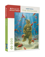 Load image into Gallery viewer, Robert Bissell: The Swimmer 500-piece Jigsaw Puzzle
