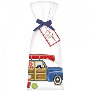 Stationwagon Canoe Bagged Towel
