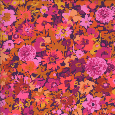 Floral Berry - Cotton Print