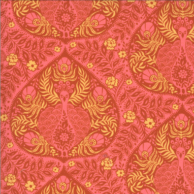 Peacock Pink - Cotton Print