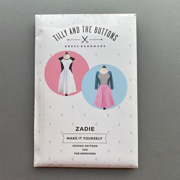 """Zadie Dress"" by Tilly and the Buttons"