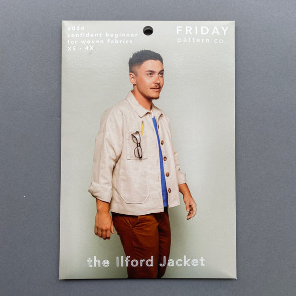 """The Ilford Jacket"" by Friday Pattern Co."