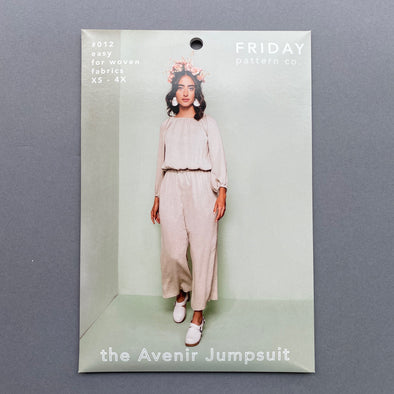 """The Avenir Jumpsuit"" by Friday Pattern Co."