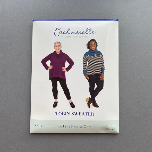 """Tobin Sweater"" by Cashmerette Patterns"