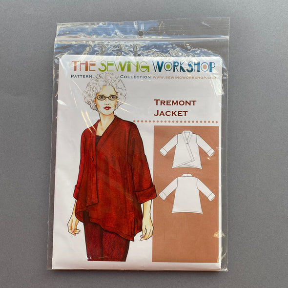 """Tremont Jacket"" by The Sewing Workshop"