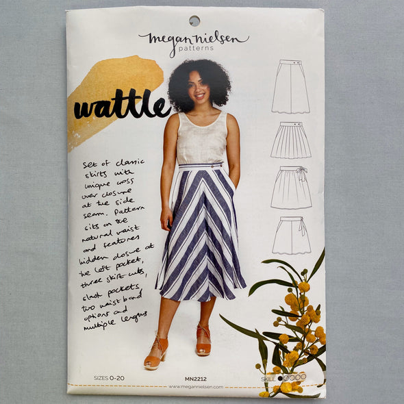 """Wattle Skirt"" Sewing Pattern"