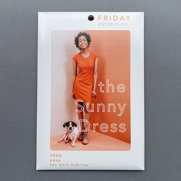 """The Sunny Dress"" by Friday Pattern Co."