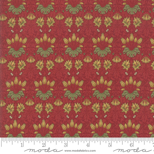 "Moda ""Tulip Crimson"" - Cotton Print"