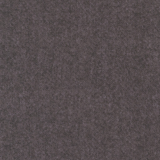 "Winter Wool ""Charcoal"" - Cotton Flannel"