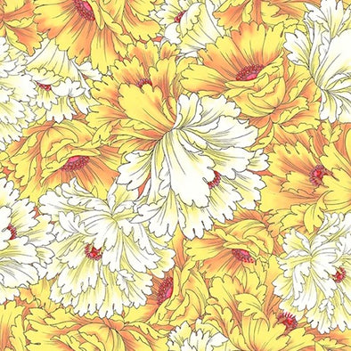 "Dianthus ""Large Floral"" Cotton Print"